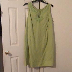 Ladies lime green dress